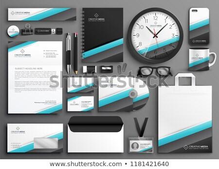 Negocios papelería establecer marca oficina teléfono Foto stock © SArts
