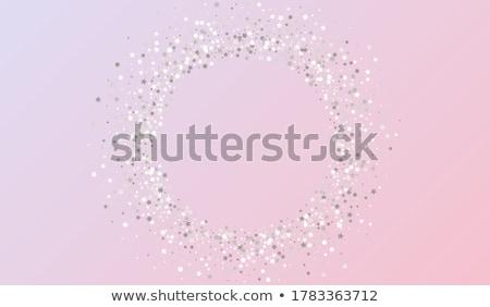 celebração · festa · bandeira · dourado · prata · confete - foto stock © olehsvetiukha