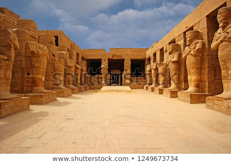 columns in egypt karnak temple Stock photo © Mikko