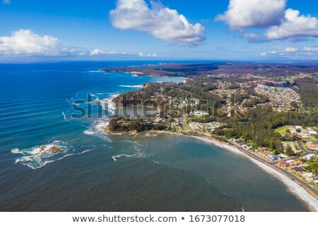 Aerial views of Batemans Bay Australia Stock photo © lovleah