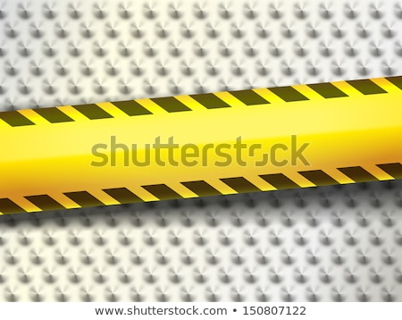 Barricade tape. For Fire Prevention and Protection Equipment. Tape for warn or catch the attention.  Stock photo © AisberG