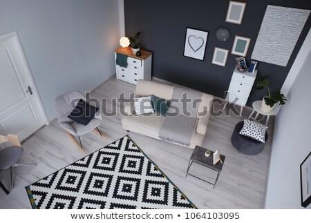 Inwigilacja salon 3D świadczonych ilustracja biuro Zdjęcia stock © Spectral