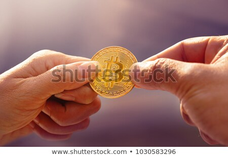 Bitcoin incertidumbre digital moneda financieros empresario Foto stock © Lightsource