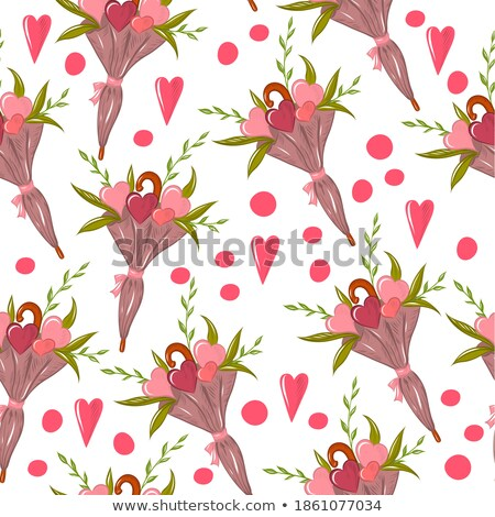 Umbrella Seamless Pattern Vector. Weather Spring Decoration. Season Cute Graphic Texture. Textile Ba Foto stock © pikepicture
