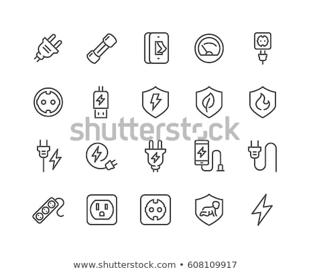 USB Vector Line Icon. Stock photo © smoki