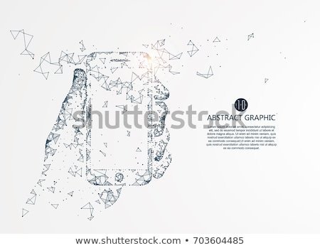 cloud technology network concept vector illustration isolated on white background stock photo © kyryloff