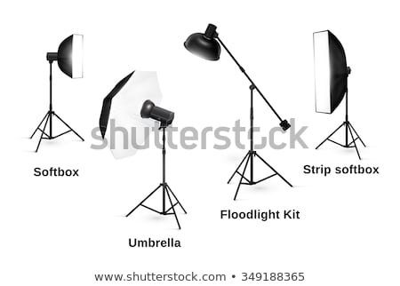Professional Photographing Gear Flash Lights Set Stock photo © robuart