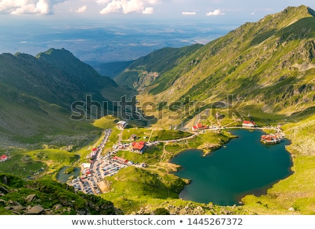Glacial Lake Balea Stock photo © grafvision