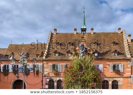 ратуша Франция мнение квадратный город строительство Сток-фото © borisb17