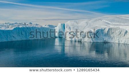 Iceberg immagine gigante Foto d'archivio © Maridav