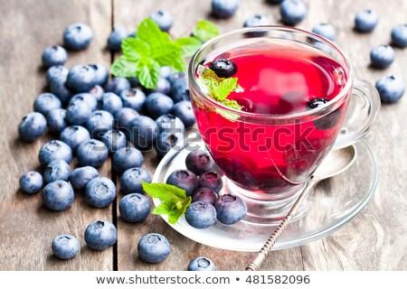 blueberry tea Stock photo © tycoon