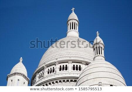 Kupola tető bazilika szent szív Párizs Stock fotó © sarahdoow