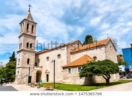 Foto d'archivio: Chiesa · Croazia · secondo · metà · città