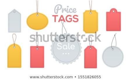 árengedmény címkék gyűjtemény terv stílus clip art Stock fotó © Decorwithme
