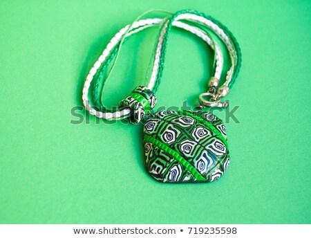 African Amulett Set Hintergrund Retro Tapete Stock foto © ShustrikS