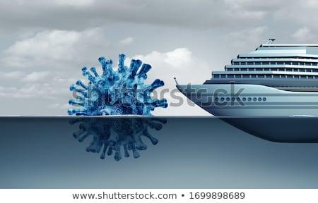 Cruise Liner Virus Danger Stock photo © Lightsource