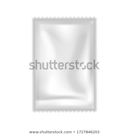 Champú acondicionador gel vector pequeño bolsa Foto stock © pikepicture