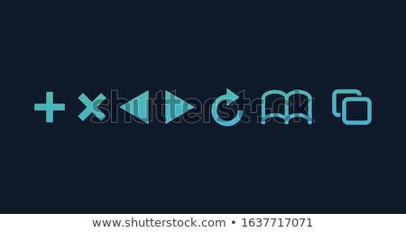 Successivo segnalibri icone Foto d'archivio © kyryloff