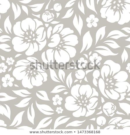 Vektor · schwarz · weiß · Ecke · Design · Muster · Zeichnung - stock foto © orson