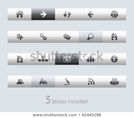 Photo stock: Site · web · trois · seize · bleu