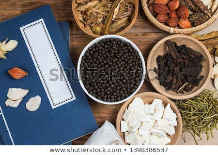 Stock photo: pill of Chinese medicine
