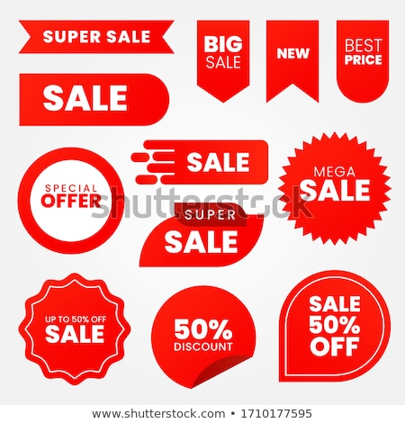 advertisement stickers Stock photo © X-etra
