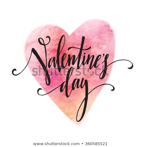 Stock photo: Grungy Valentines Day Card