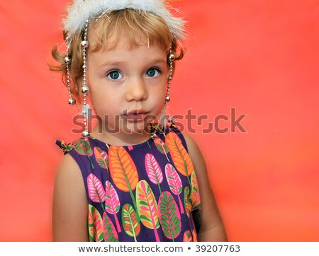 pourtret of beauty little girl Stock photo © Reana