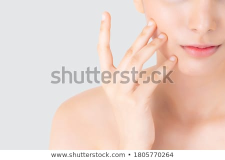 стороны щека красивая женщина женщину девушки Сток-фото © imarin
