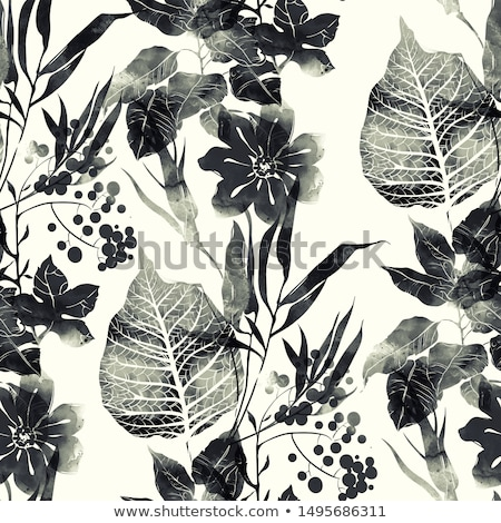 imprint of flowers Stock photo © sirylok