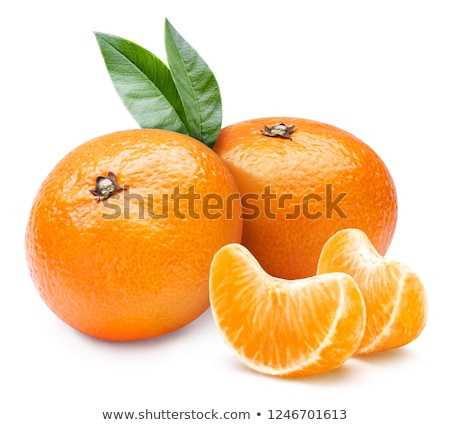 Dos frutas verde frescura alimentación saludable Foto stock © advanbrunschot