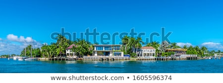 Ocean Front Mansion Stock photo © macropixel