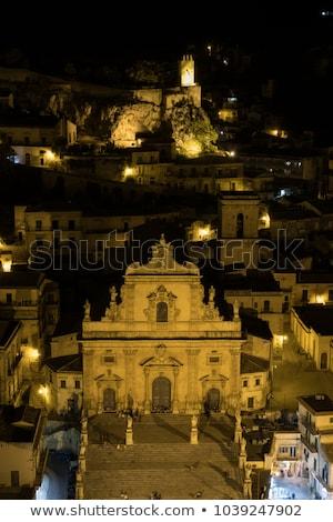 Sycylia Włochy widoku miasta podróży architektury Zdjęcia stock © travelphotography