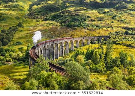 鉄道 · 橋 · ブラウン · セピア · 画像 · 見える - ストックフォト © jakatics