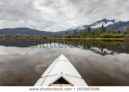 байдарках озеро лук белый Колорадо гор Сток-фото © PixelsAway