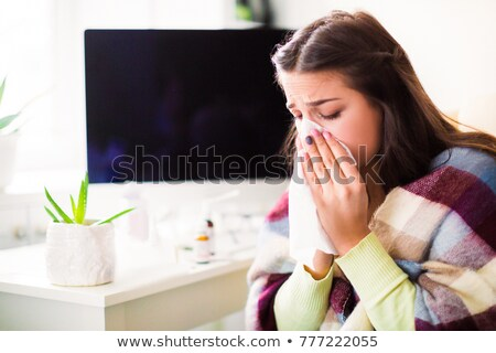 Nasal congestion Stock photo © Lightsource