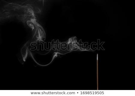 kadzidło · dymu · fali · szlak · obracać · poziomy - zdjęcia stock © ErickN
