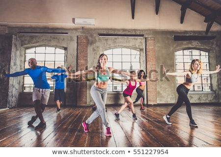gym or dance class Stock photo © godfer