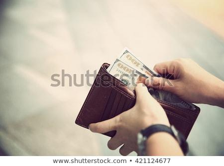 Wallet and Cash Stock photo © chrisdorney
