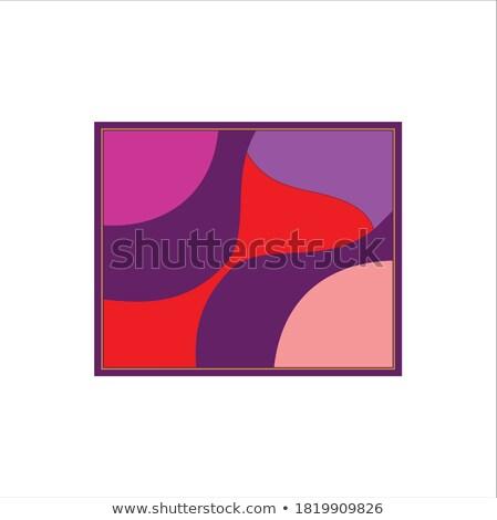 Dynamique icône vin rouge verre à l'intérieur spirale Photo stock © Porteador