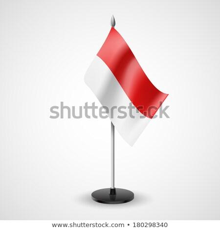 Miniature Flag of Monaco stock photo © bosphorus