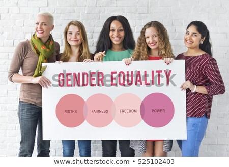 whiteboard gender Stock photo © unkreatives