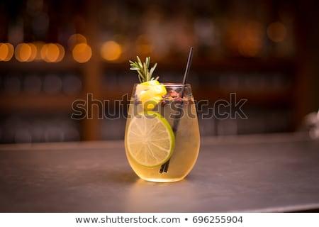 citroen · vruchten · balsem · kruid · blad · geïsoleerd - stockfoto © songbird