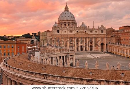 Foto stock: Catedral · vaticano · Basílica · de · São · Pedro · praça · Cidade · do · Vaticano