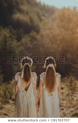 лесбиянок пару Постоянный назад подчеркнуть мышления Сток-фото © bmonteny