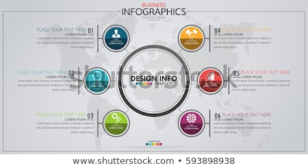 Business · Charts · abstrakten · Infografiken · Layout - stock foto © auimeesri
