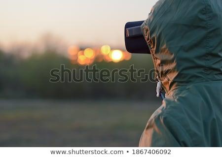 Soldado completo engrenagem posição Iraque Foto stock © shivanetua