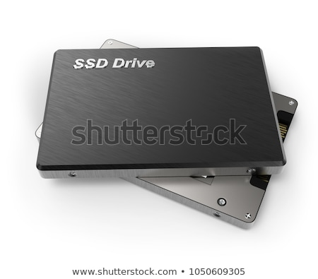 Solid state drive SSD isolated on white Stock photo © anmalkov