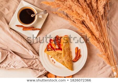 crepe · baga · maçã · comida · tabela · sobremesa - foto stock © M-studio