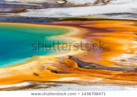 Paint Pots in a Thermal Pool Stock photo © wildnerdpix